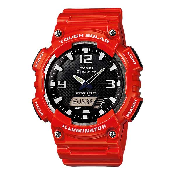 Casio AQ-S810WC-4AVDF Solar Mens Resin