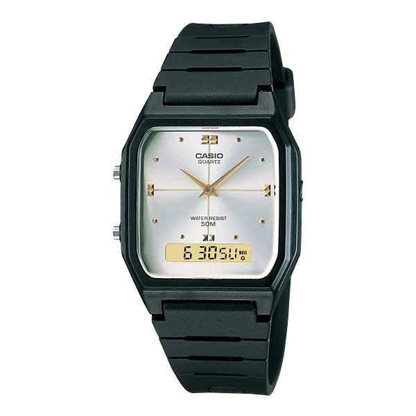 Casio AW-48HE-7AVDF Dual Display Unisex Resin