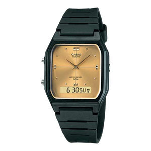 Casio AW-48HE-9AVDF Dual Display Unisex Resin
