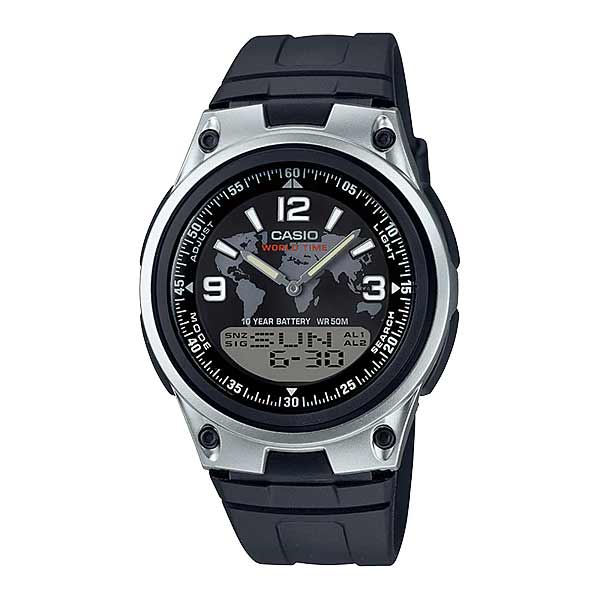 Casio AW-80-1A2VDF Dual Display Mens Resin