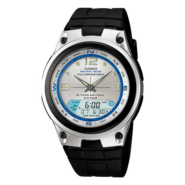 Casio AW-82-7AVDF Dual Display Mens Resin