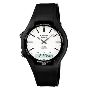 Casio AW-90H-7EVDF Dual Display Unisex Resin