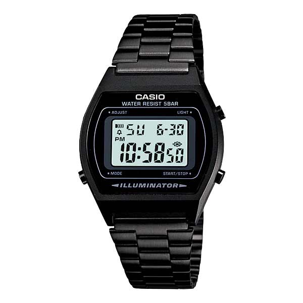 Casio B640WB-1ADF Digital Unisex Black