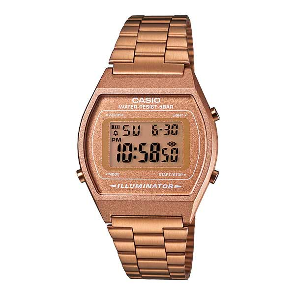 Casio B640WC-5ADF Digital Unisex Rosegold