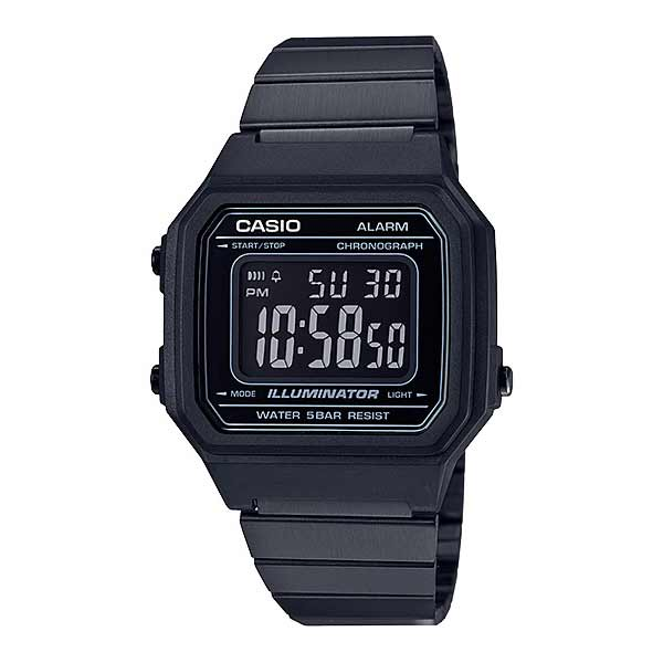 Casio B650WB-1BDF Digital Unisex Black