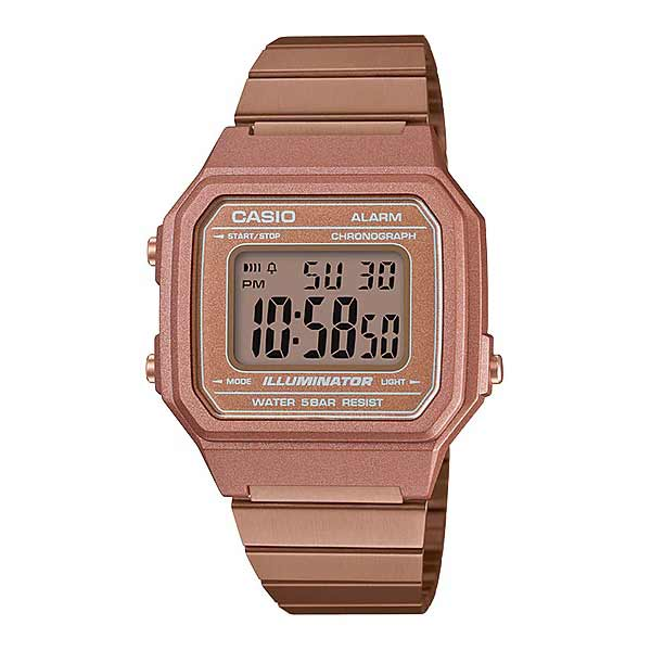 Casio B650WC-5ADF Digital Unisex Rosegold