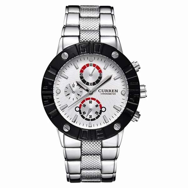 Curren 8006 Mens Stainless Steel Watch