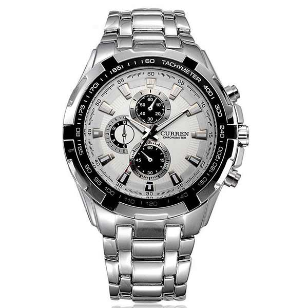 Curren 8023 Mens Stainless Steel Watch