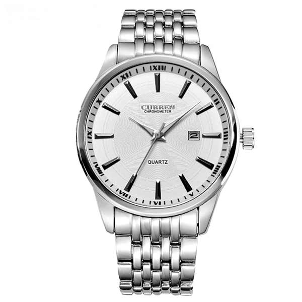 Curren 8052 Dated Mens Stainless Steel Watch