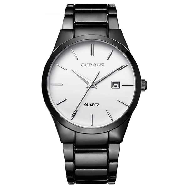 Curren 8106 Dated Mens Stainless Steel Watch