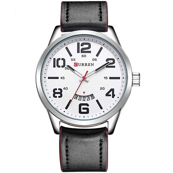 Curren 8236 Dated Mens Leather Watch