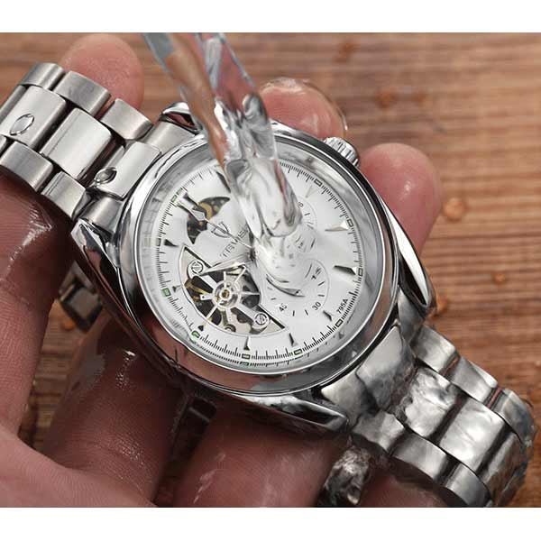 Tevise 795 Mens Automatic Stainless Steel Watch