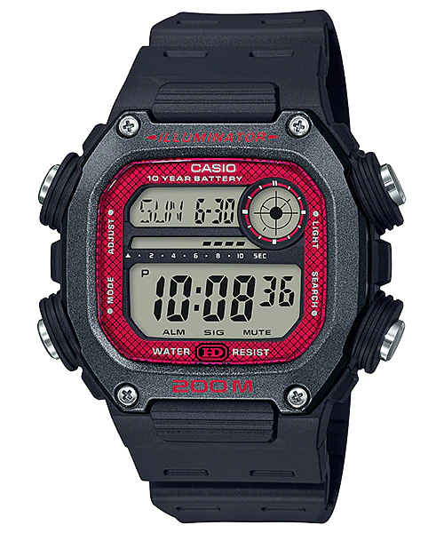 Casio DW-291H-1BVDF Digital Mens Resin