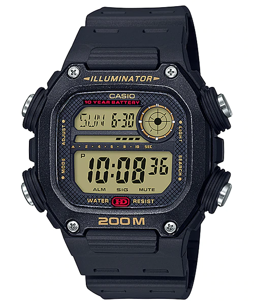 Casio DW-291H-9AVDF Digital Mens Resin