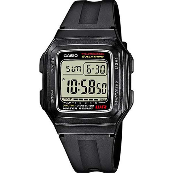Casio F-201WA-1ADF Digital Unisex Resin
