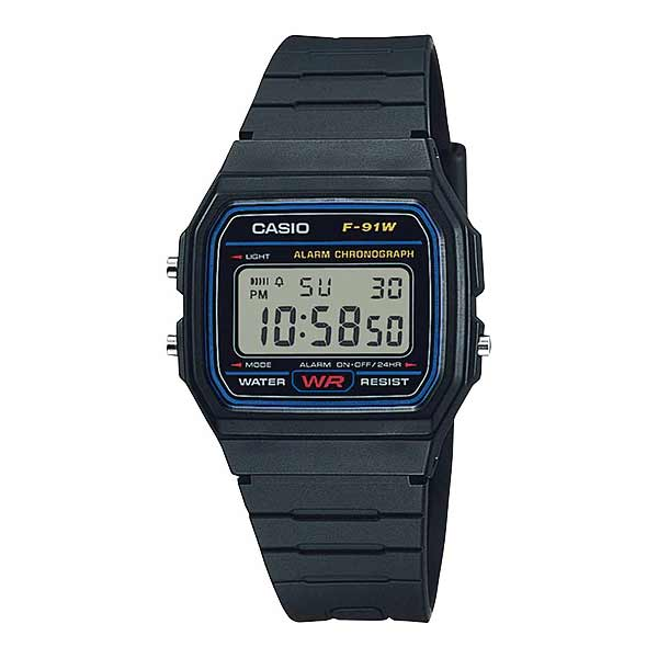 Casio F-91W-1DG Digital Unisex Resin