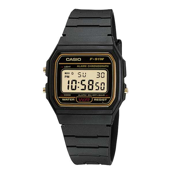 Casio F-91WG-9QDF Digital Unisex Resin
