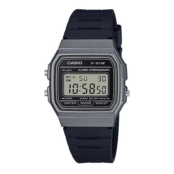 Casio F-91WM-1BDF Digital Unisex Resin
