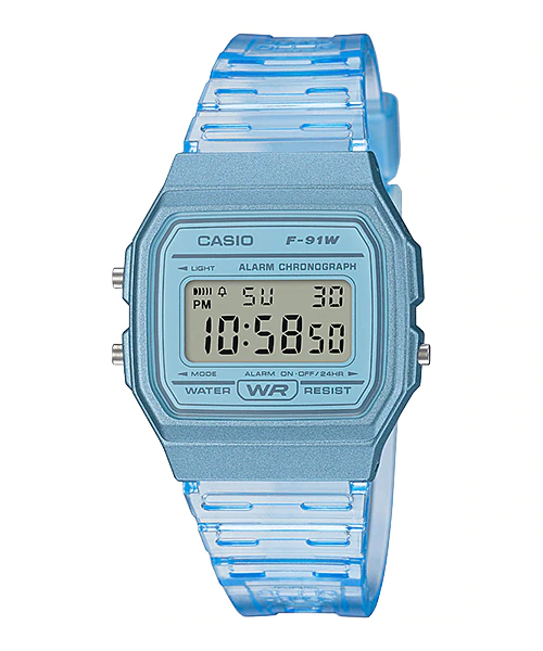 Casio F-91WS-2DF Digital Unisex Resin
