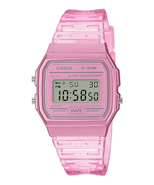 Casio F-91WS-4DF Digital Unisex Resin