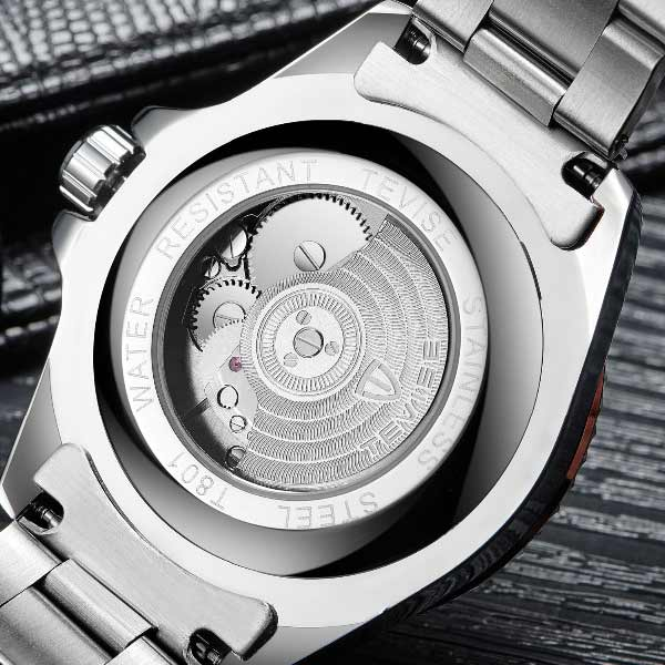 Tevise T801 Mens Automatic Stainless Steel Watch