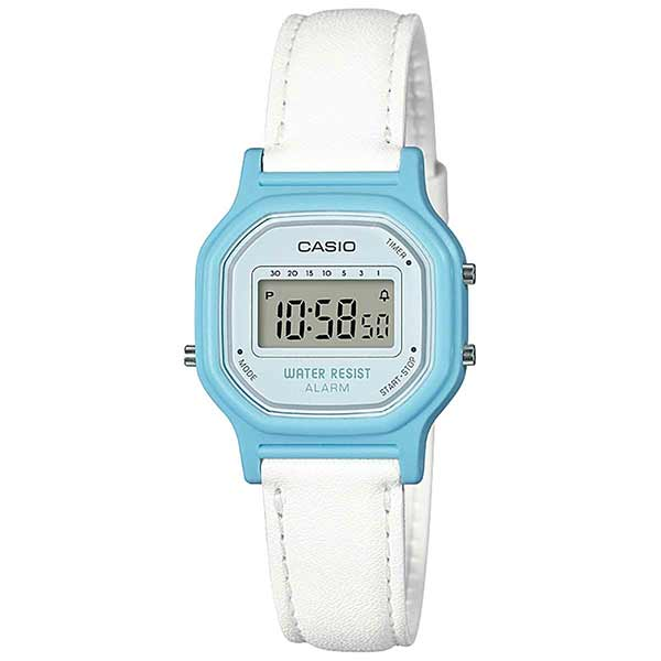 Casio LA-11WL-2ADF Digital Womens Leather