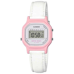 Casio LA-11WL-4ADF Digital Womens Leather