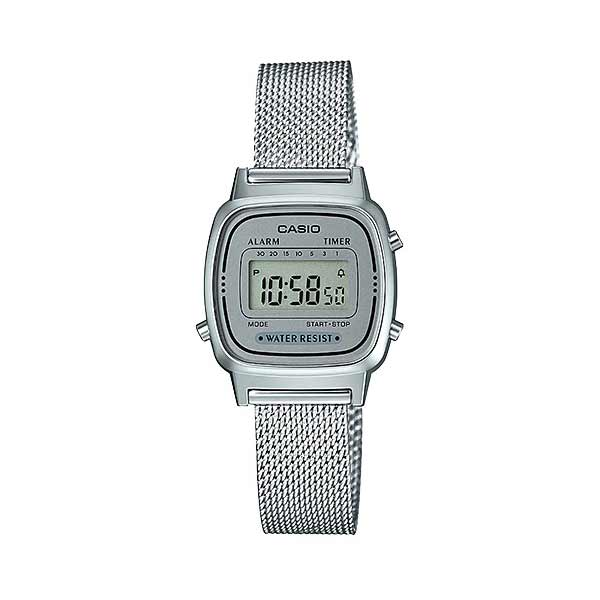 Casio LA670WEM-7DF Digital Womens Silver