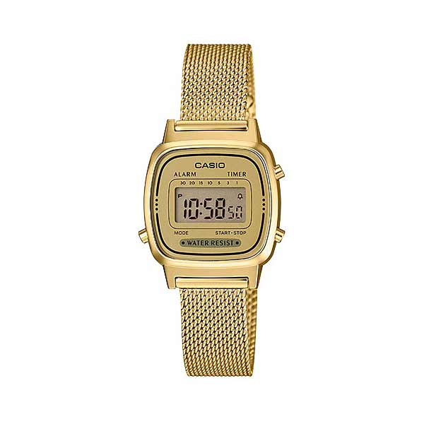 Casio LA670WEMY-9DF Digital Womens Gold