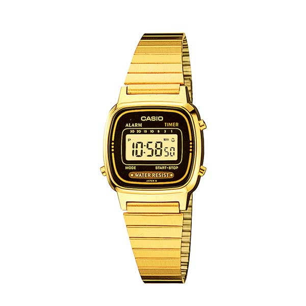 Casio LA670WGA-1DF Digital Womens Gold