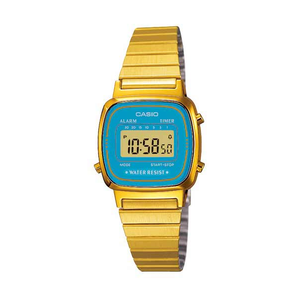 Casio LA670WGA-2DF Digital Womens Gold