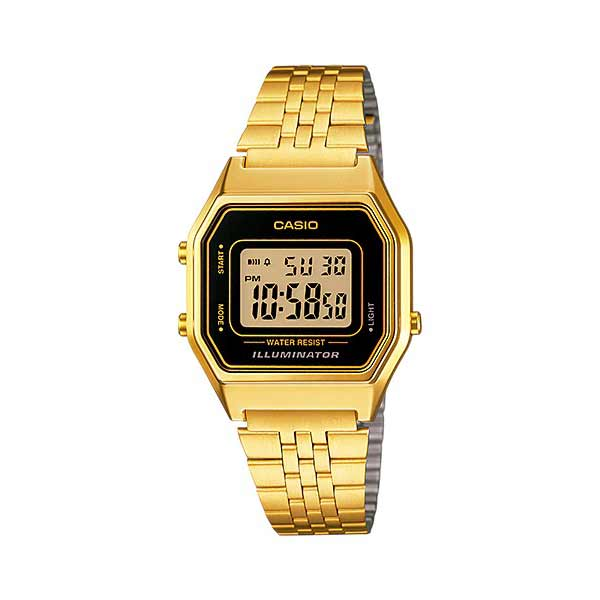 Casio LA680WGA-1DF Digital Womens Gold