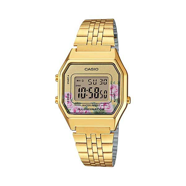 Casio LA680WGA-4CDF Digital Womens Gold