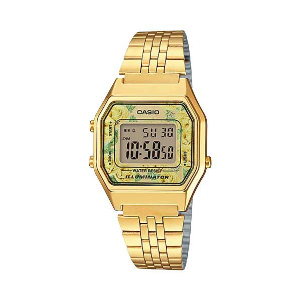 Casio LA680WGA-9CDF Digital Womens Gold