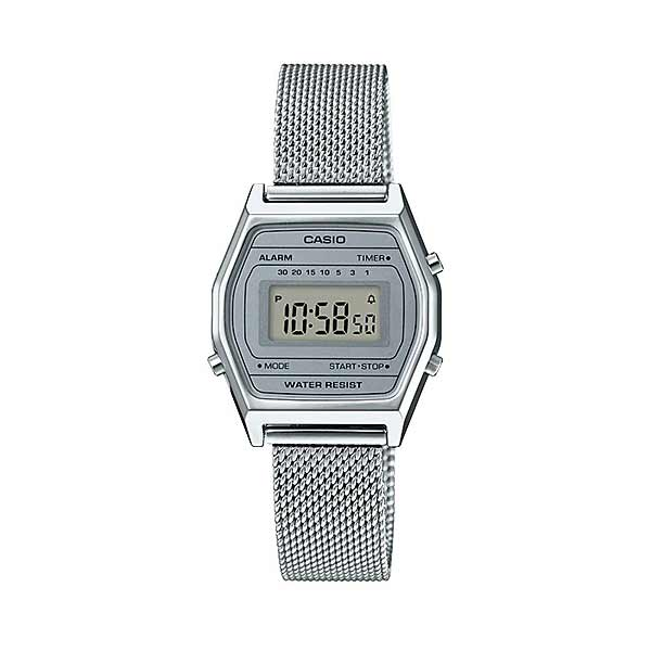 Casio LA690WEM-7DF Digital Womens Silver