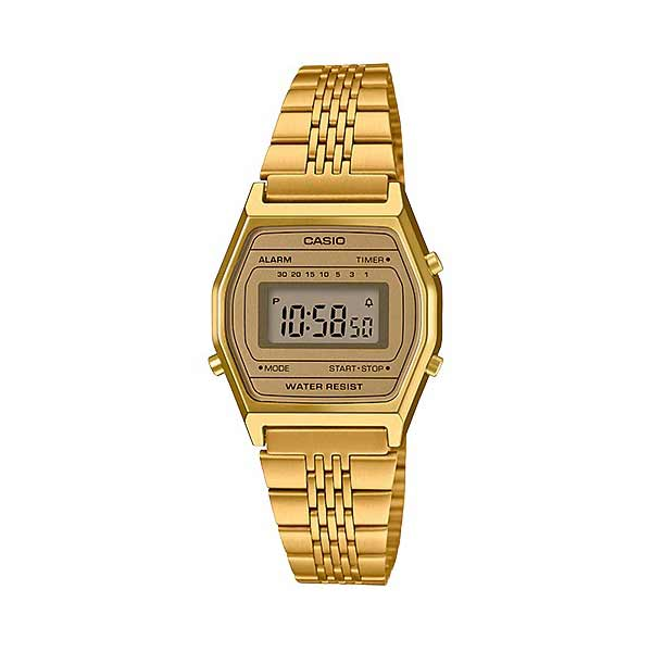 Casio LA690WGA-9DF Digital Womens Gold