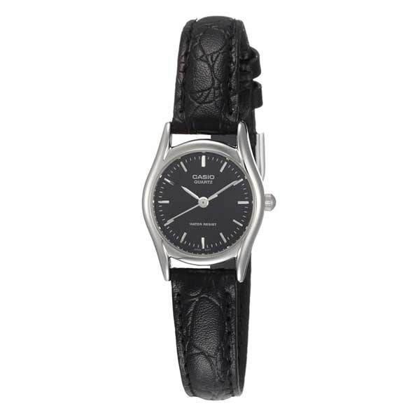Casio LTP-1094E-1ARDF Quartz Womens Leather