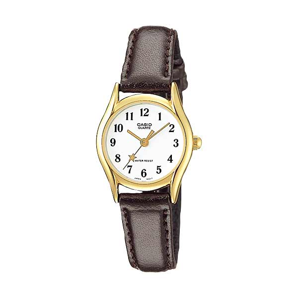 Casio LTP-1094Q-7B4RDF Quartz Womens Leather