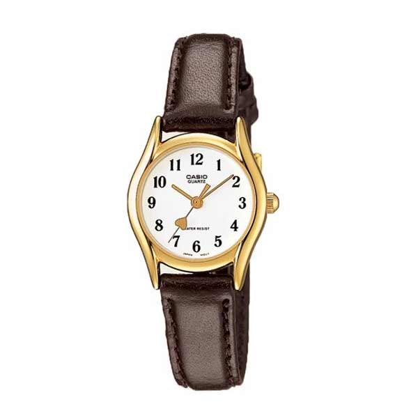 Casio LTP-1094Q-7B5RDF Quartz Womens Leather