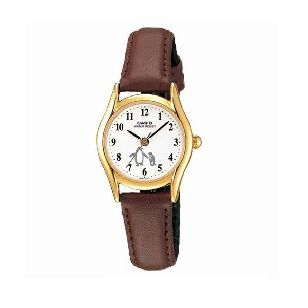 Casio LTP-1094Q-7B6RDF Quartz Womens Leather
