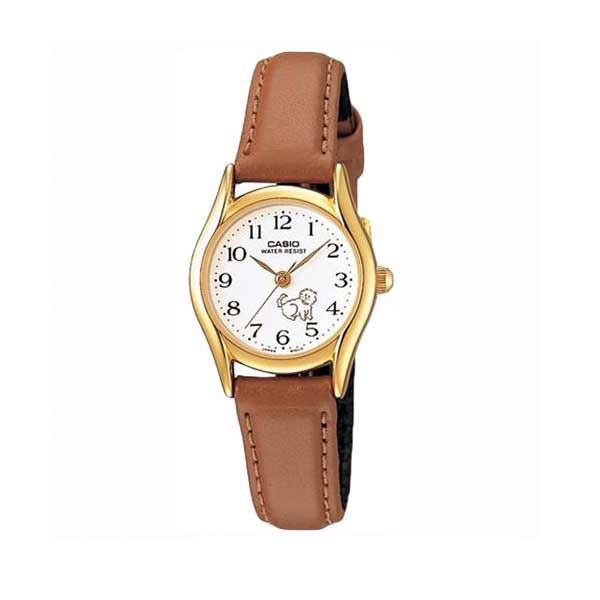 Casio LTP-1094Q-7B7RDF Quartz Womens Leather