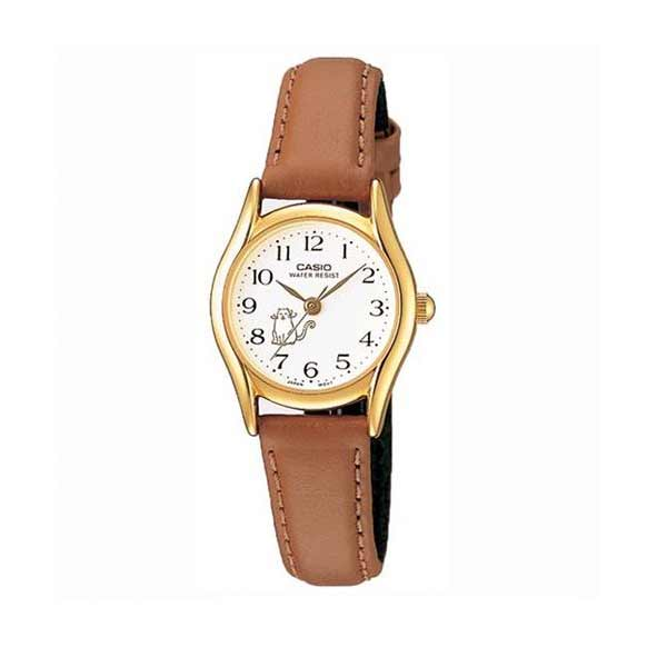 Casio LTP-1094Q-7B8RDF Quartz Womens Leather