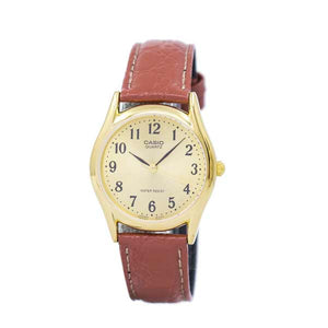 Casio LTP-1094Q-9BRDF Quartz Womens Leather