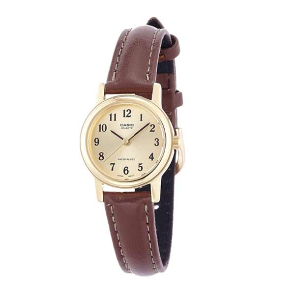 Casio LTP-1095Q-9B1 Quartz Womens Leather