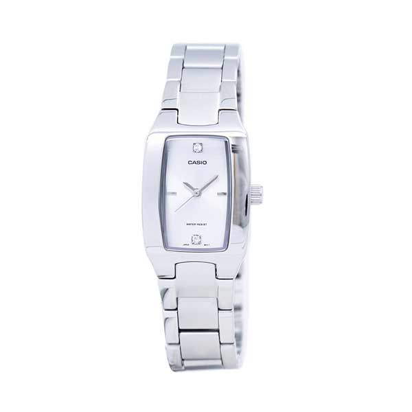 Casio LTP-1165A-7C2DF Quartz Womens Silver