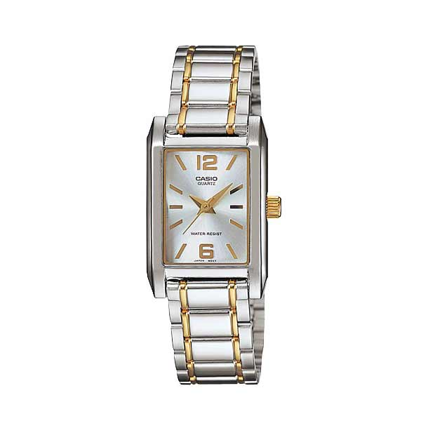 Casio LTP-1235SG-7ADF Quartz Womens Silver/Gold