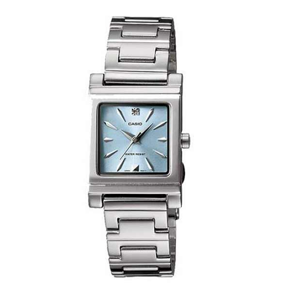 Casio LTP-1237D-2A2DF Quartz Womens Silver