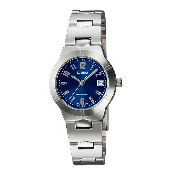 Casio LTP-1241D-2A2DF Quartz Womens Silver