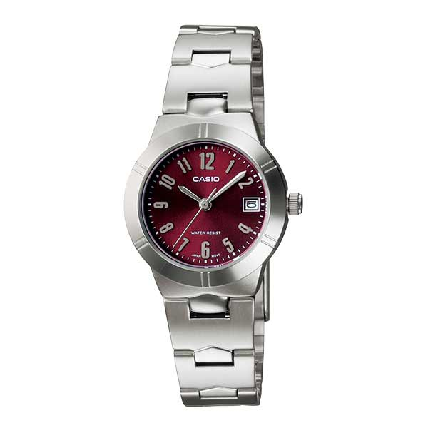 Casio LTP-1241D-4A2DF Quartz Womens Silver