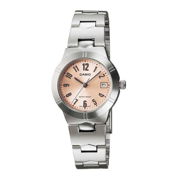 Casio LTP-1241D-4A3DF Quartz Womens Silver